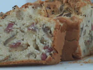 Cake aux lardons et olives avec thermomix
