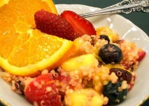 Salade de fruits d'hiver au Quinoa