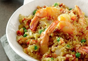Paella avec cookeo