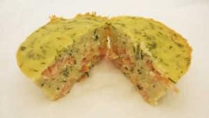 Moelleux au saumon sans gluten avec cookeo