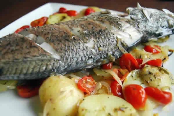 Recette Dorade et ses pommes de terre avec cookeo