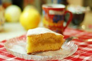 Gâteau pommes citron thermomix