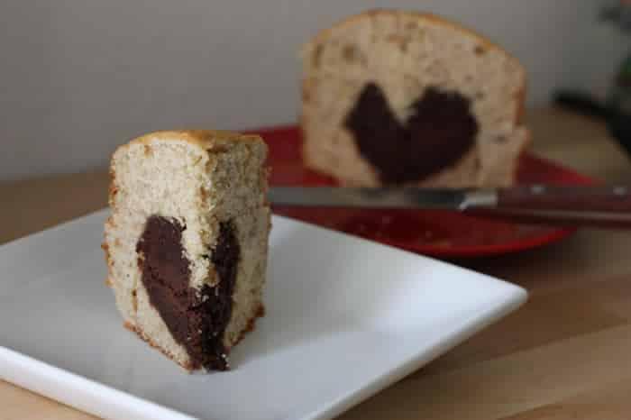 Recette Cakes Coeur de Nutella avec Thermomix