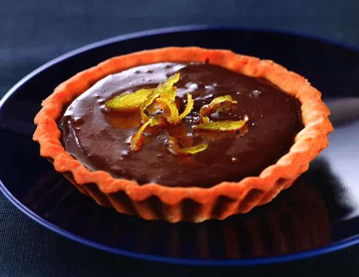 Recette Tartelettes chocolat citron jaune au Thermomix