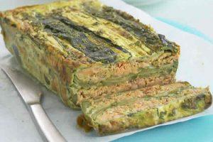 Recette Terrine de saumon et courgettes cookeo