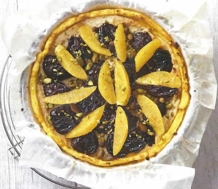 Recette tarte de polenta aux fruits thermomix