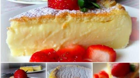 Gâteau Magique à la vanille thermomix