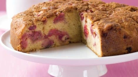 Gâteau tendre au Rhubarbe Thermomix