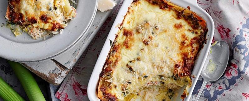 Lasagne Fondant aux Poireaux thermomix