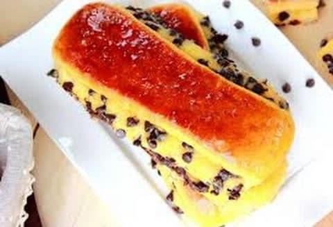Pain suisse au chocolat et crème pâtissière thermomix