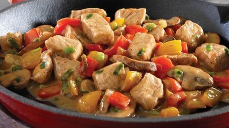 Sauté de Porc et légumes avec thermomix