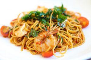 Spaghettis aux fruits de mer cookeo