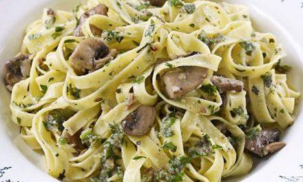 Tagliatelles fraîches et Pesto Basilic thermomix