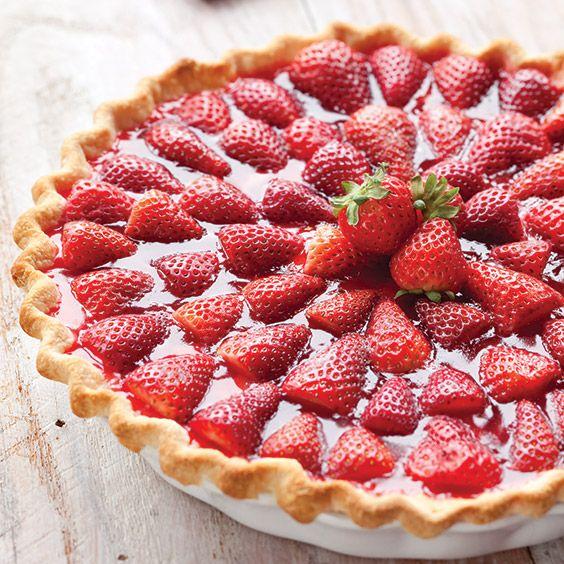 Tarte aux fraises facile avec thermomix