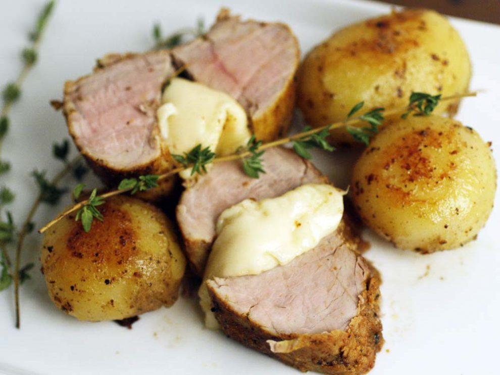 Filet de porc vapeur aux pommes de terre thermomix