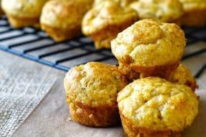Muffins au chèvre et à la courgette thermomix