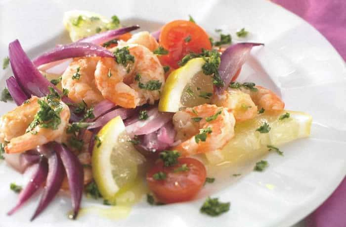 Salade à la sicilienne thermomix