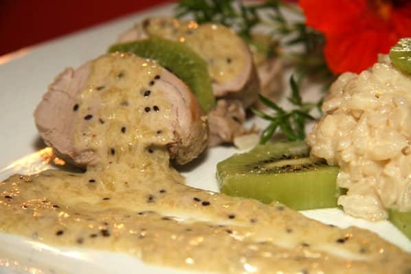 Filet mignon au kiwi cookeo