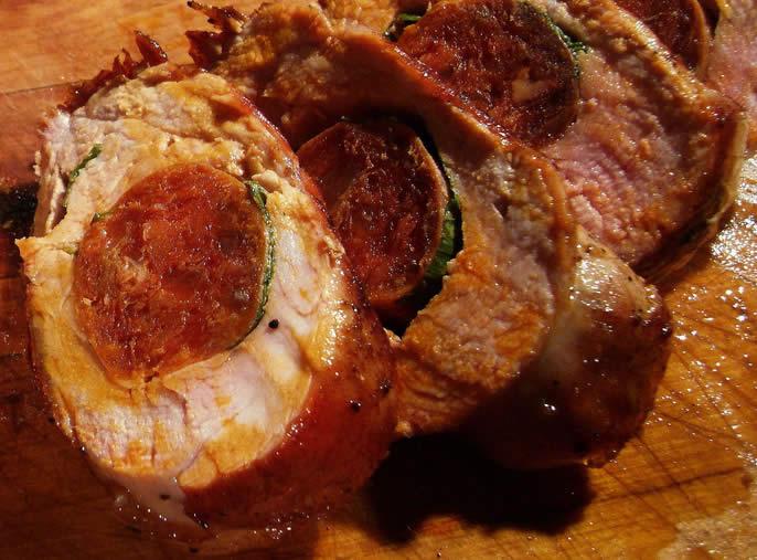 Filet Mignon au chorizo avec thermomix