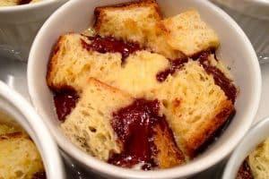 Brioche perdue en pudding au cookeo
