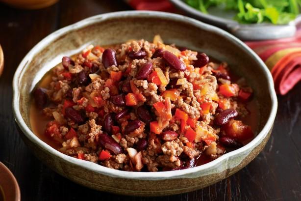 Chili con carne ww au thermomix
