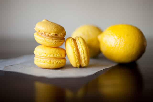 Macarons aux citrons avec thermomix