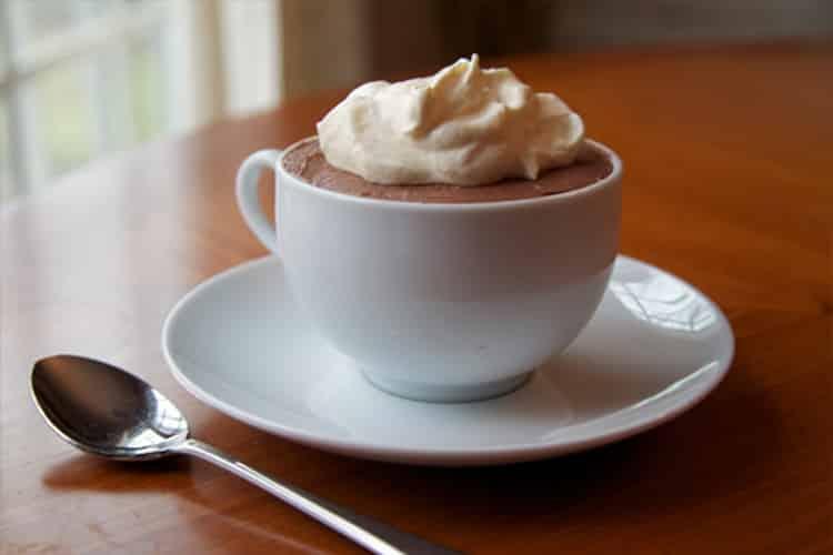 Mousse chocolat mascarpone au thermomix