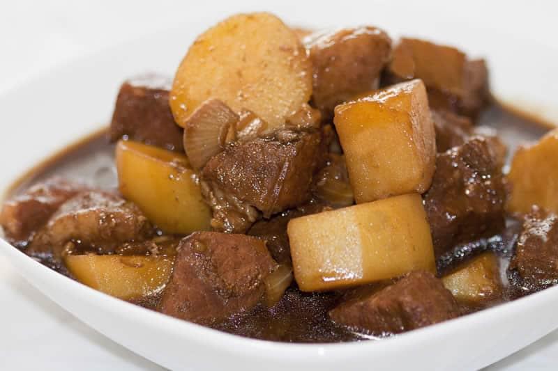 Sauté de veau et pommes de terre au thermomix