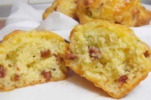 Muffins salé lardon au thermomix