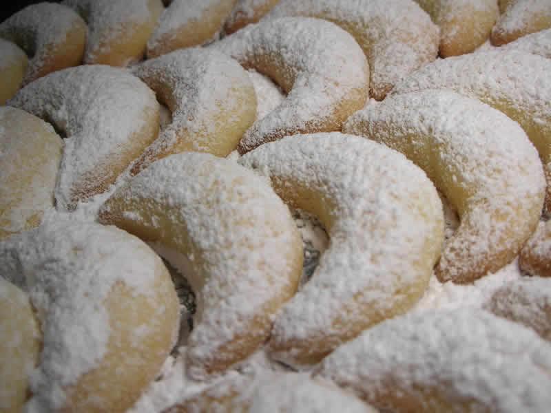 Vanille Kipferl biscuits alsacien au thermomix