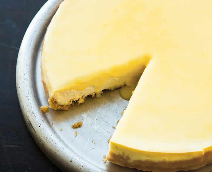 Cheesecake citron au lemon curd avec thermomix