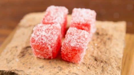 Pâte de fruits à la fraise avec thermomix