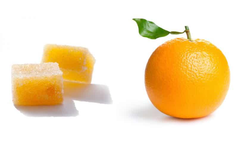 Pâte de fruits orange facile au thermomix