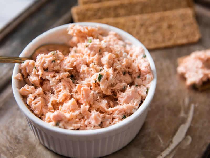 Rillettes de saumon facile au thermomix