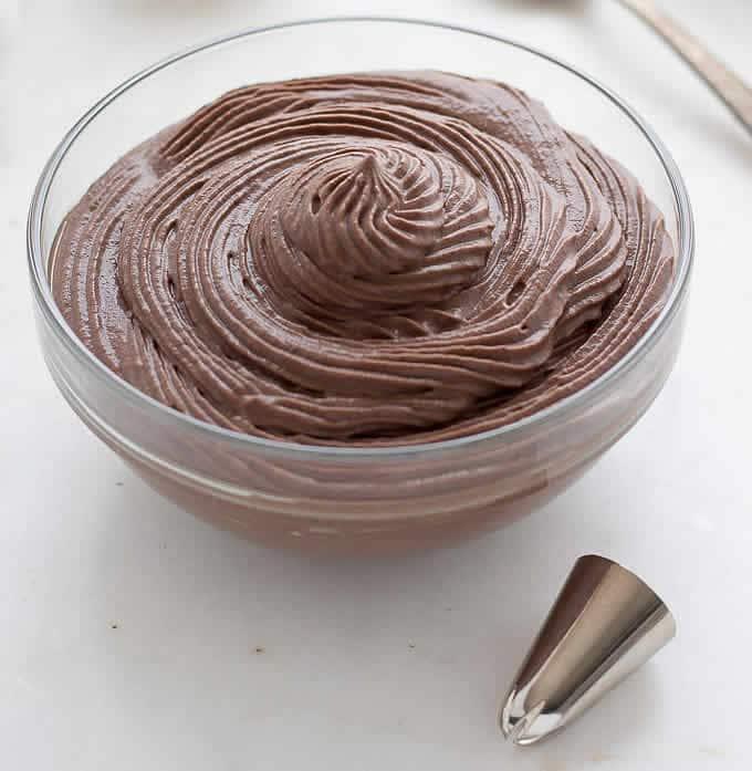 Crème pâtissière au chocolat avec thermomix