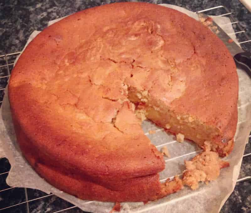 Gâteau aux pommes bananes facile au thermomix