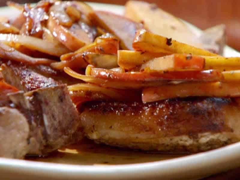 Sauté de porc au cidre avec thermomix