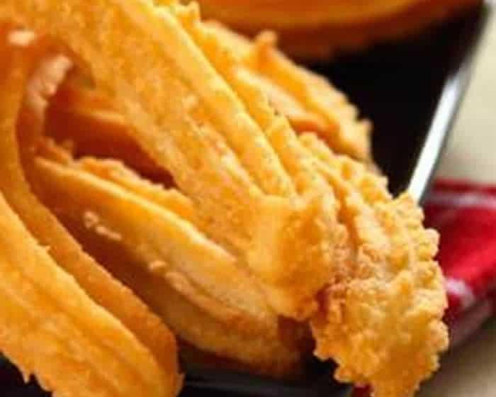 Chichi salés ou churros pour l'apéritif avec thermomix