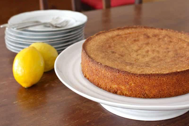 Gâteau moelleux mascarpone et citron au thermomix