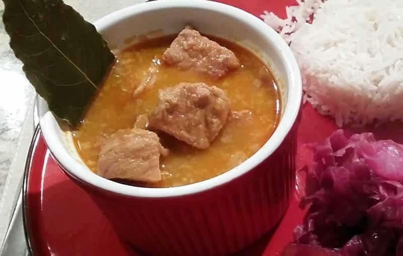 Porc à la sauce coco avec thermomix