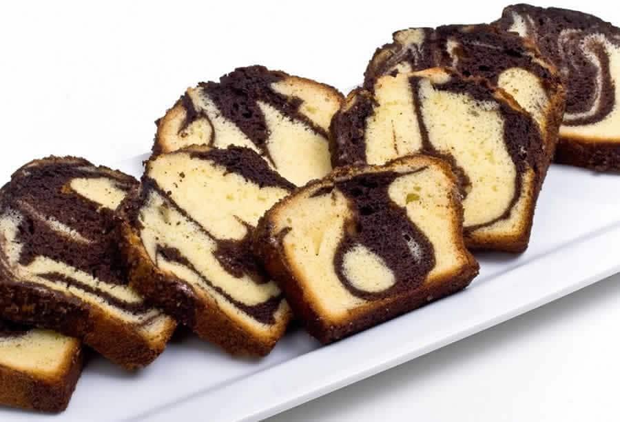 Cake marbré moelleux au yaourt avec thermomix