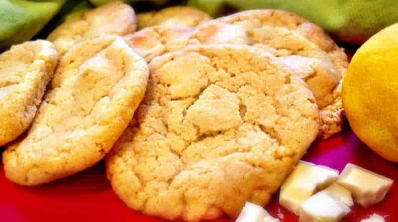 Cookie chocolat blanc et citron au thermomix