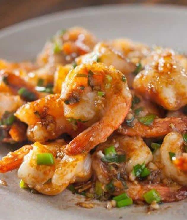 Crevettes sautées recette thaïlandaise au thermomix