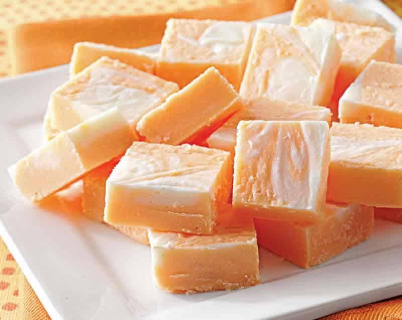 Morceaux de chocolat blanc et orange au thermomix