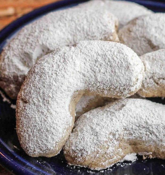 Croissants de lune aux noisettes avec thermomix