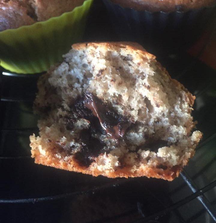 Muffins banane chocolat au Thermomix2