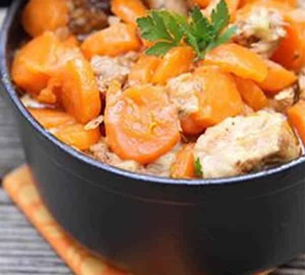 Poulet aux carottes light au thermomix