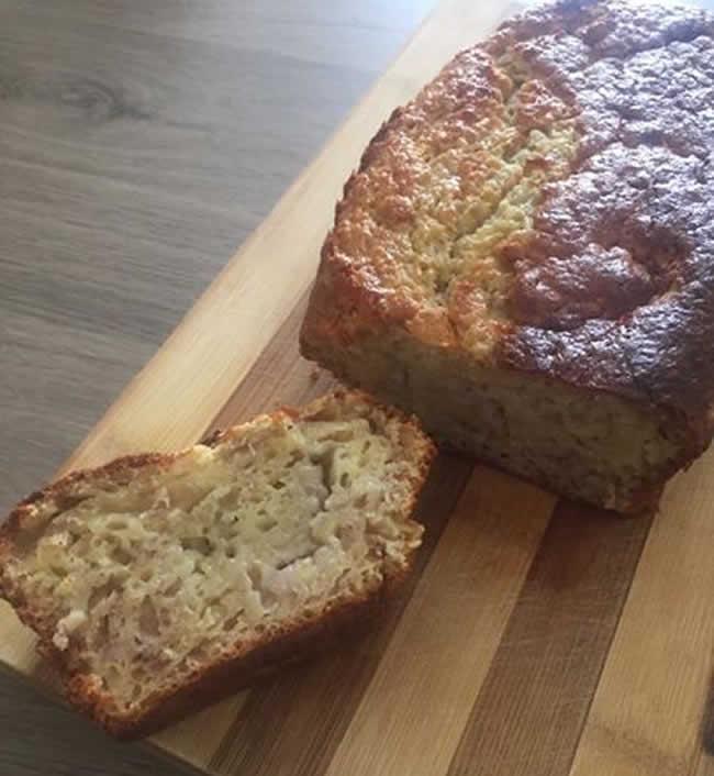 Banana bread ou cake au banane