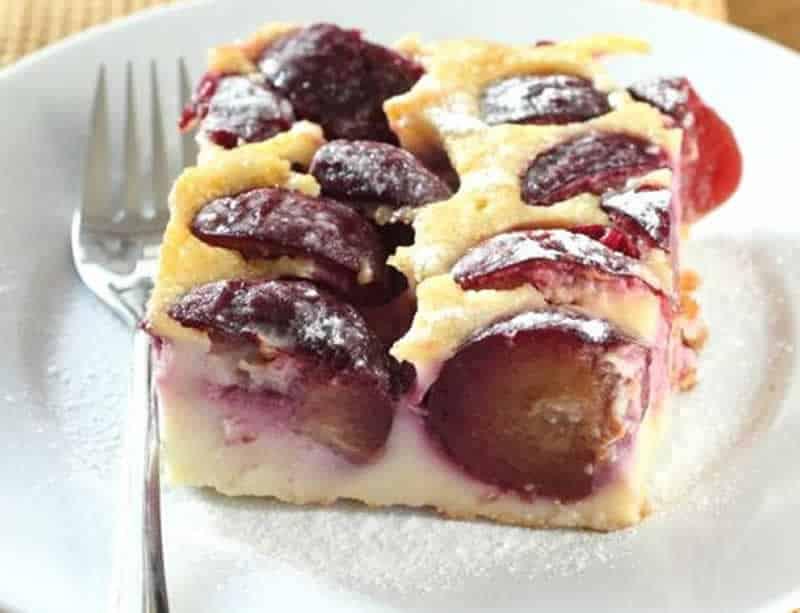 Clafoutis aux prunes avec thermomix