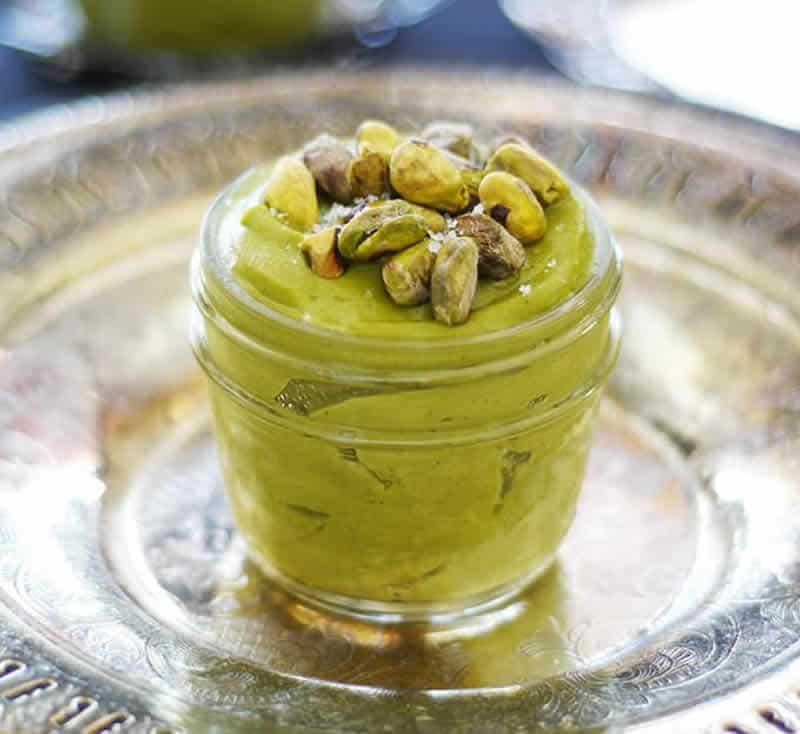 Crème pâtissière à la pistache avec thermomix